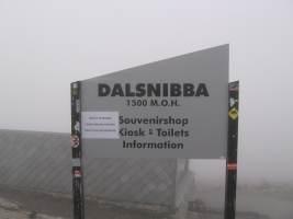 zamračená Dalsnibba