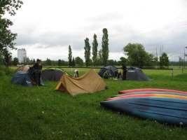 tábor po ránu