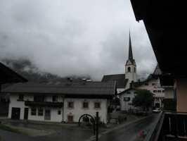 pohled z balkonu hotelu