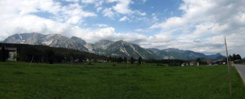planina okolo Schlapferu