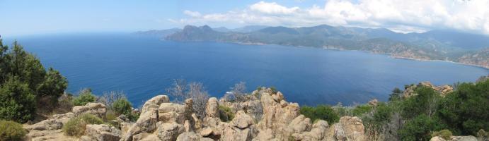 pobřeží Calanche